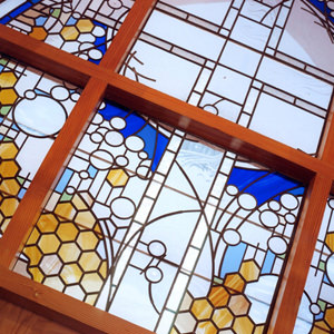 modern stain glass