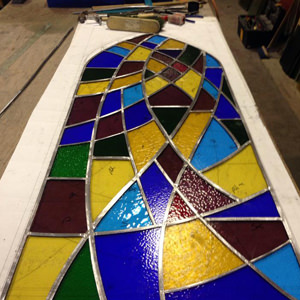 stained glass services