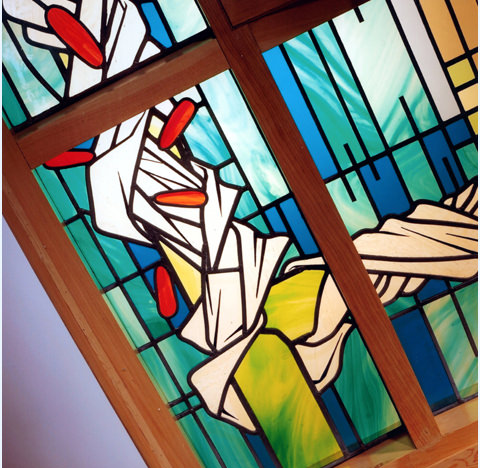 Domestic Stained Glass