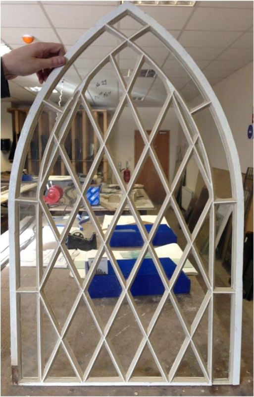 stain glass frame