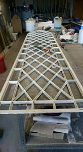 stain glass window frames